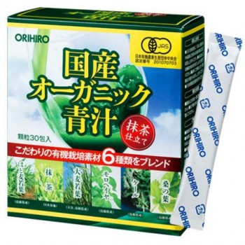 ORIHIRO Зелёный сок Аодзиру