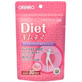 ORIHIRO Gymnema Diet — растительная добавка для снижения аппетита