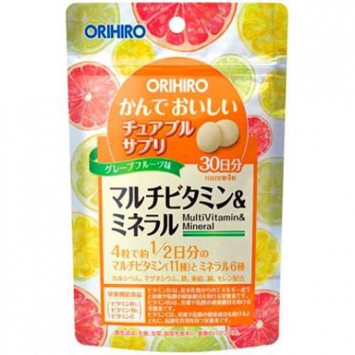 ORIHIRO Витамины и минералы (120 конфет на 30 дней)