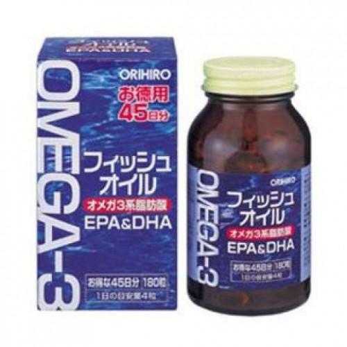 ORIHIRO Омега-3 (180 капсул на 45 дней)