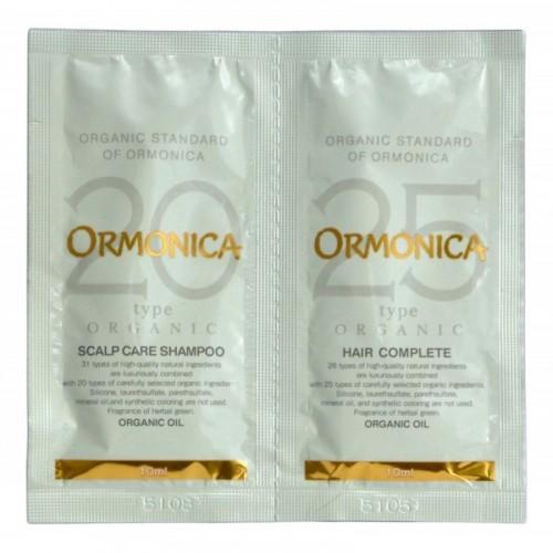 Мини-набор: органический шампунь и бальзам для ухода за волосами и кожей головы