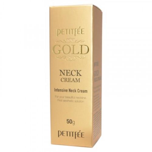 Крем для кожи шеи с золотом