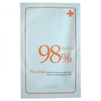 Маска для лица гидрогелевая с плацентой и экстрактами растений