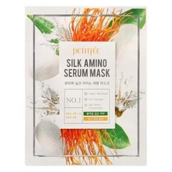 Тканевая маска с аминокислотами шелка, 25 гр, Petitfee