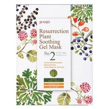 Тканевая гель-маска  успокаивающая и восстанавливающая с растительными экстрактами, 25 гр, Petitfee