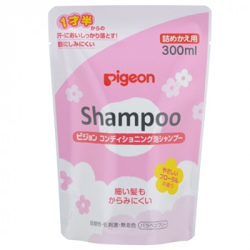 Шампунь-пенка PIGEON для детей 18+ мес сменный блок 300 мл