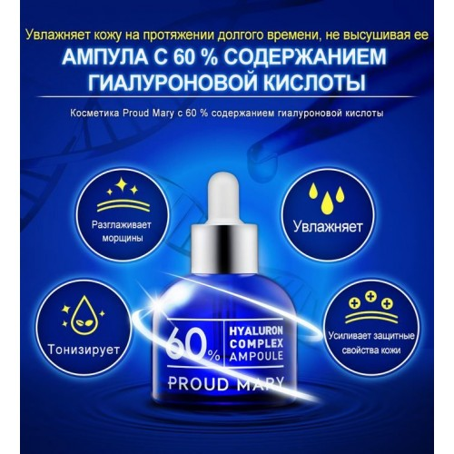 Комплекс гиалуроновой кислоты 60% в ампуле
