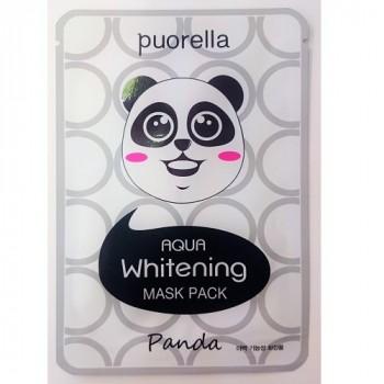 Отбеливающая маска для лица - Панда