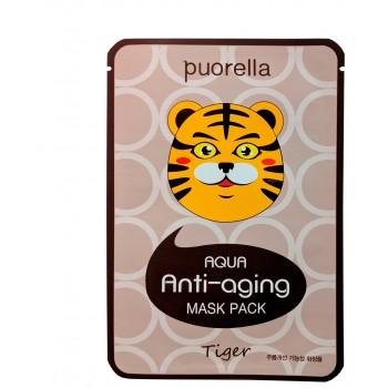 Антивозрастная маска для лица - Тигр