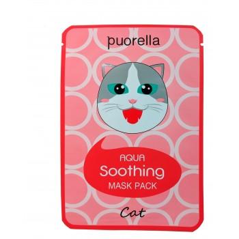Успокаивающая маска для лица - Кошка