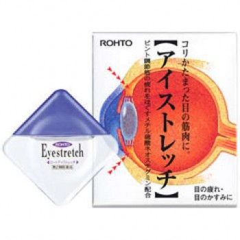 Капли для глаз Rohto Eyestretch