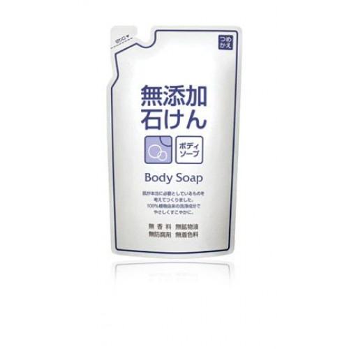 Жидкое мыло для тела с 100% растительными экстрактами (мягкая экономичная упаковка)