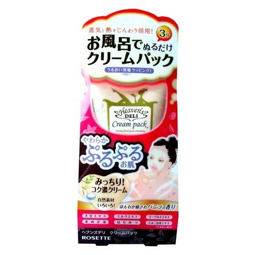 Питательная крем-маска для лица с экстрактом бобов, молоком, йогуртом, маслом рисовых отрубей, медом и яичным экстрактом