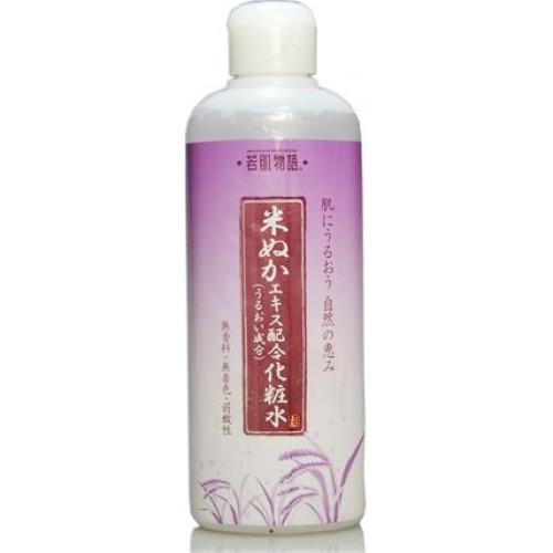 Увлажняющий лосьон для кожи с экстрактом рисовых отрубей