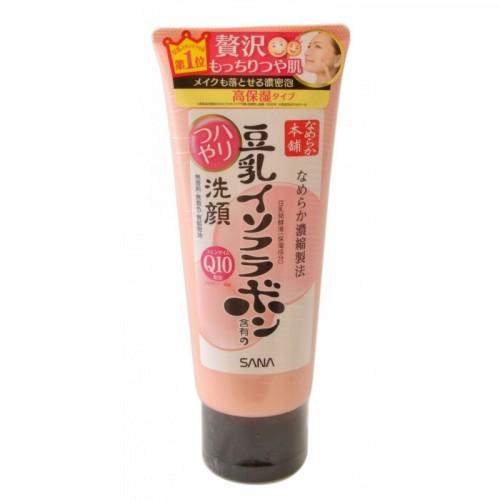 Пенка для умывания и снятия макияжа увлажняющая с изофлавонами сои и капсулированным коэнзимом Q10
