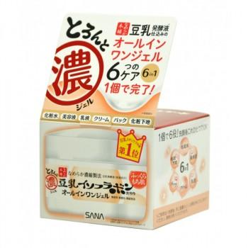 Крем - гель увлажняющий с изофлавонами сои 6 в 1