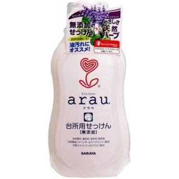Жидкое средство для мытья посуды SARAYA ARAU флакон 400 мл