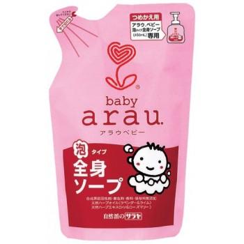 Средство для мытья детских бутылочек SARAYA ARAU BABY запасной блок 250 мл
