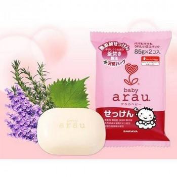 Туалетное мыло для малышей Saraya Arau Baby (2 шт в единой мягкой упаковке)*36 85 г