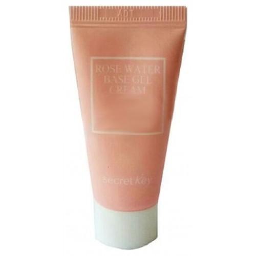 Гель-крем с экстрактом розы Rose water base gel cream_tube