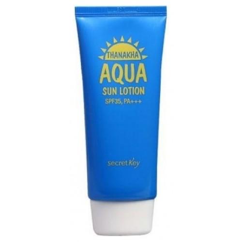 Лосьон солнцезащитный увлажняющий Thanakha Aqua Sun Lotion SPF35, PA+++
