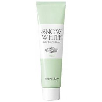 Крем для лица осветляющий Snow White Color Tone Up Cream_Mint