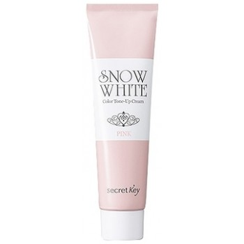 Крем для лица осветляющий Snow White Color Tone Up Cream_Pink