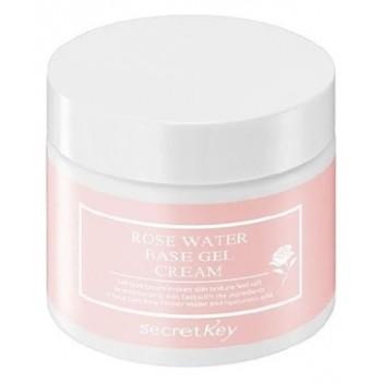 Гель-крем с экстрактом розы Rose water base gel cream