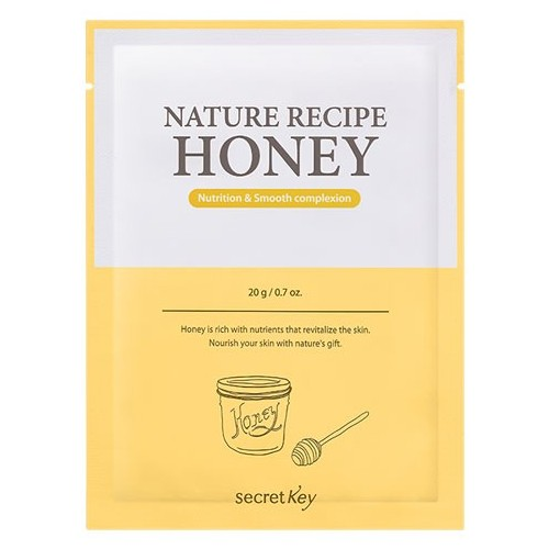 Маска тканевая медовая Nature Recipe Mask Pack_Honey