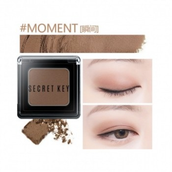 Тени для век моно Fitting Forever Single Shadow_#Moment(Beige Brown)