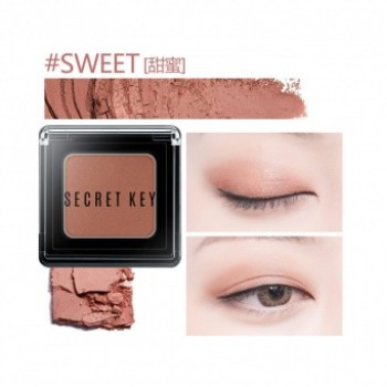 Тени для век моно Fitting Forever Single Shadow_#Sweet(Coral Pink)