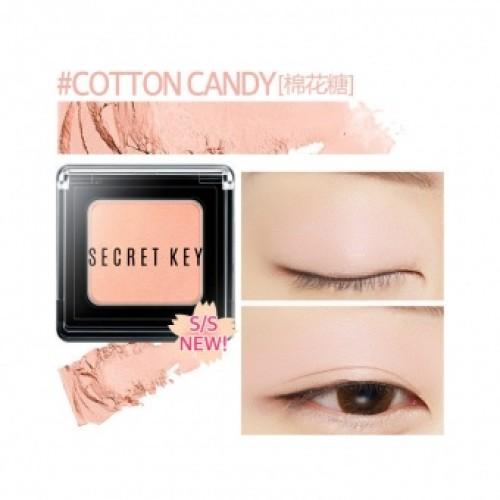 Тени для век моно Fitting Forever Single Shadow_#Cotton Candy(Light Pink)