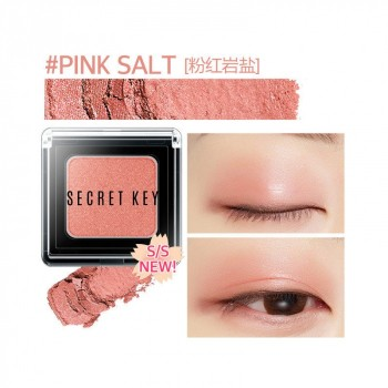 Тени для век моно Fitting Forever Single Shadow_#Pink Salt(Vivid Pink)