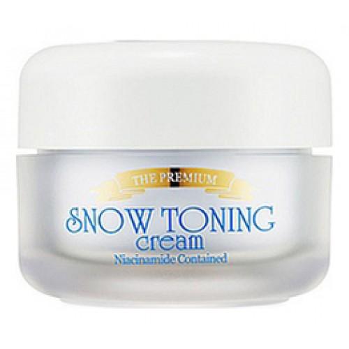 Крем для лица осветляющий The Premium Snow Toning Cream