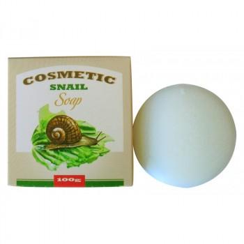 Косметическое мыло для умывания с экстрактом слизи улитки