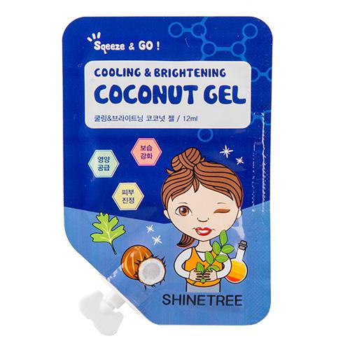 Гель для лица охлаждающий с экстрактом кокоса и ментола