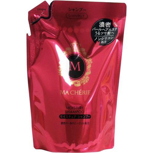 Бессиликоновый увлажняющий шампунь для волос с цветочно-фруктовым ароматом (мягкая экономичная упаковка)