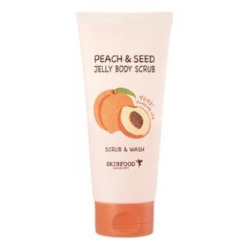Гелевый скраб для тела с экстрактом персика Peach&Seed Jelly Body Scrub