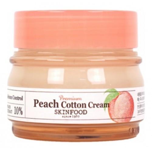 Крем для лица с экстрактом персика PREMIUM PEACH COTTON CREAM