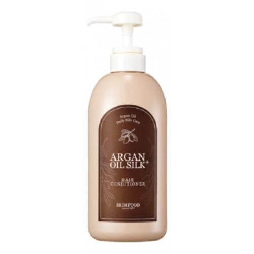 Кондиционер для волос с аргановым маслом Argan Oil Silk Plus Hair Conditioner