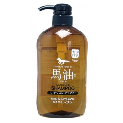 Шампунь для волос Squeeze LOSHI без силикона с содержанием конского жира 600 мл