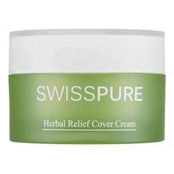 Крем дневной для чувствительной кожи с растительными экстрактами, 30 ml, Swisspure