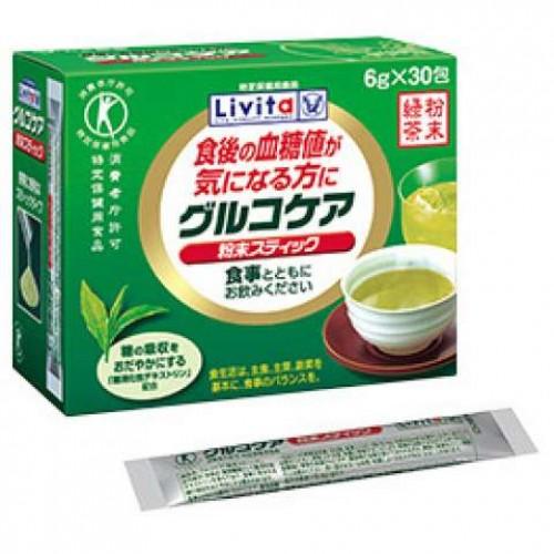 Livita Японский зелёный чай для снижения сахара (30 пакетиков)
