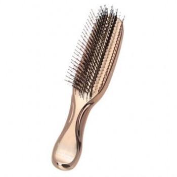 Массажная расческа Scalp Brush Univiala (золотая)