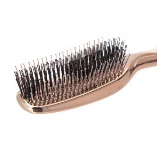 Массажная расческа Scalp Brush Univiala 572 зубчика (золотая)