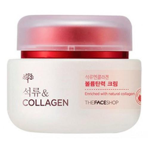 Лифтинг крем с экстрактом граната и коллагеном Pomegranate and Collagen Volume Lifting Cream