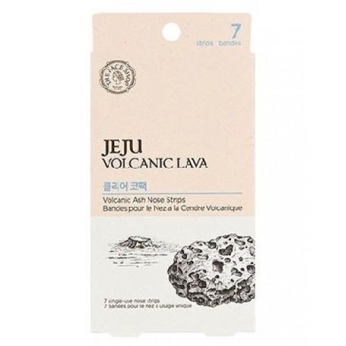 Полоски для носа очищающие набор набор Jeju Volcanic Lava Pore Clear Nose Strips