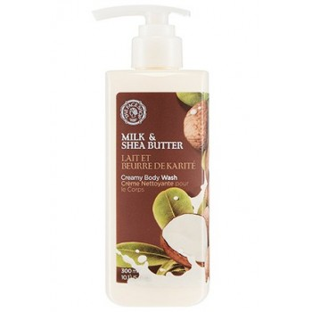 Гель для душа MILK & SHEA BUTTER CREAMY BODY WASH