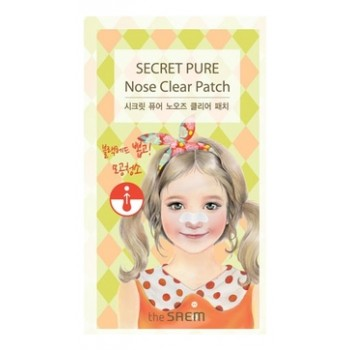 Набор пластырей против акне Secret Pure Nose Clear Patch Set (8pcs)