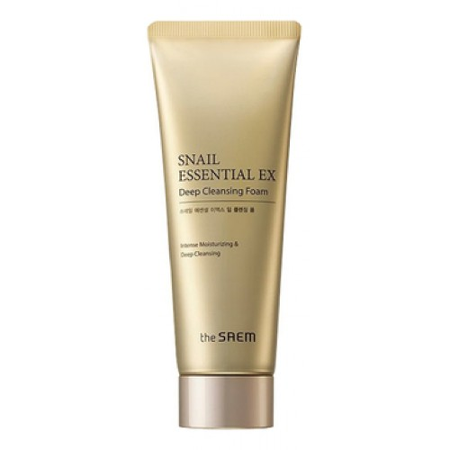 Пенка для умывания Snail Essential EX Wrinkle Solution Deep Cleansing Foam